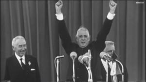 1965, première campagne pour l'Elysée