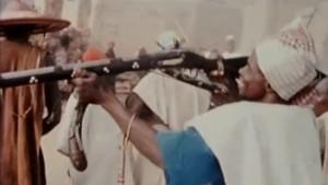 Funérailles de femmes à Bongo