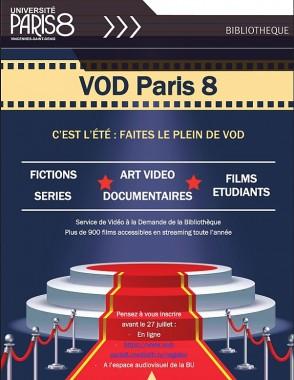 FERMETURE ESTIVALE DES INSCRIPTIONS : la VOD continue !